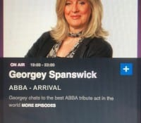 Arrival's very own Agnetha talking on the BBC this week.